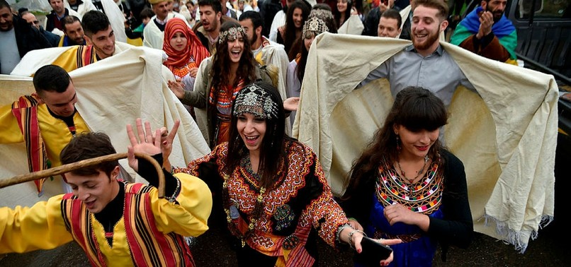 BERBERS MARK NEW YEAR IN ALGERIA, WELCOMING 2968