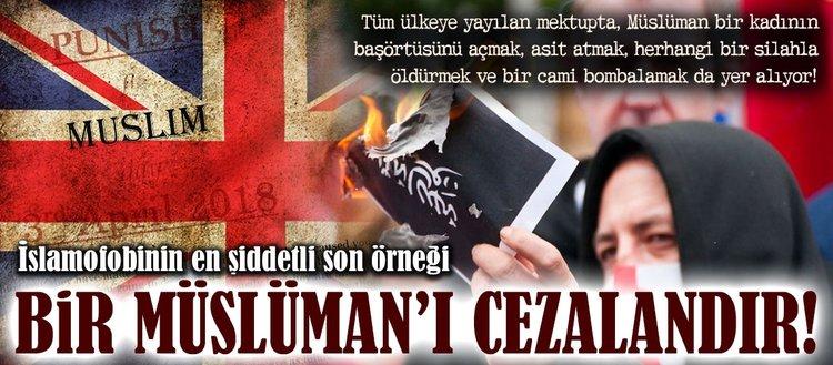 İslamofobinin son örneği: Bir Müslümanı cezalandır!