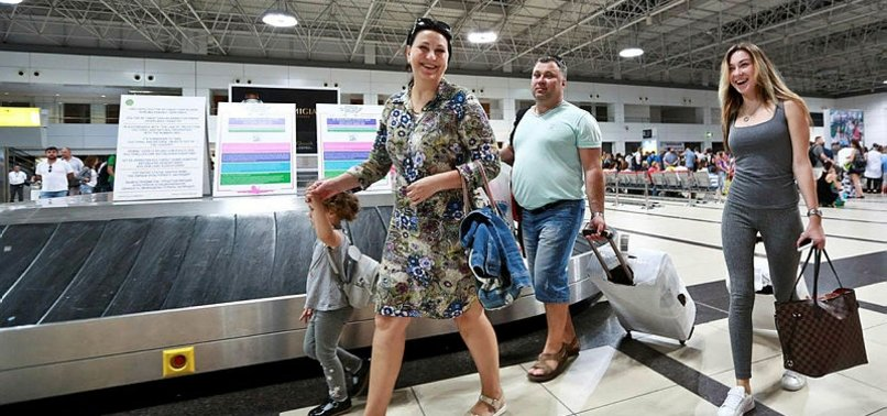 TURKEY EXPECTS OVER 6 MILLION RUSSIAN TOURISTS IN 2018