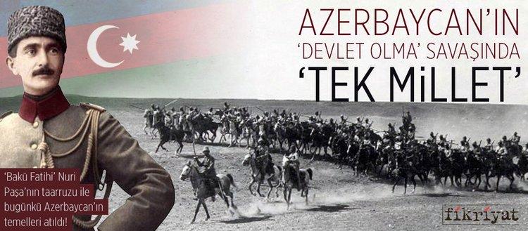 Azerbaycan'ın 'devlet olma' savaşında 'tek millet'