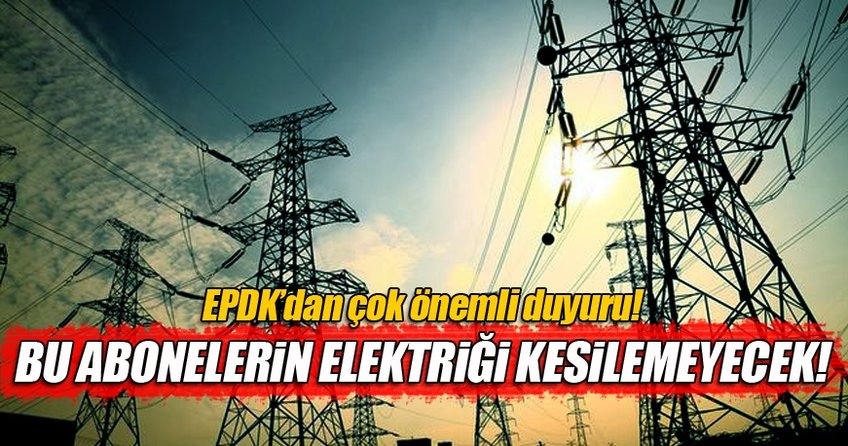 EPDK'dan önemli elektrik düzenlemesi