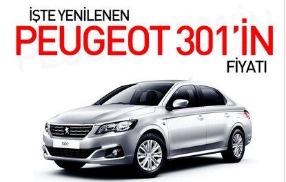 İşte yenilenen Peugeot 301'in fiyatı