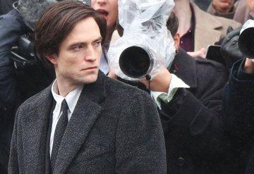 Robert Pattinson The Batman Setinde