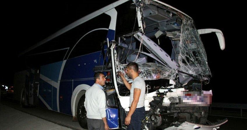 Isparta'da korkunç kaza!