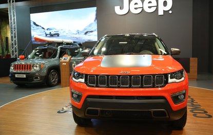 Yeni Jeep Compass İstanbul Autoshow'da boy gösterdi