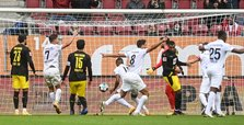 Dortmund slump to 2-0 Bundesliga defeat in Augsburg