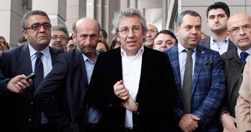CHP'li Enis Berberoğlu'na müebbet, Erdem Gül ve Can Dündar'a 10'ar yıl hapis cezası istemi!