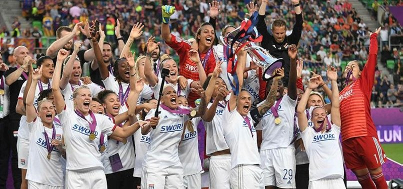 LYON BEAT BARCELONA 4-1 TO WIN WOMENS CHAMPIONS LEAGUE