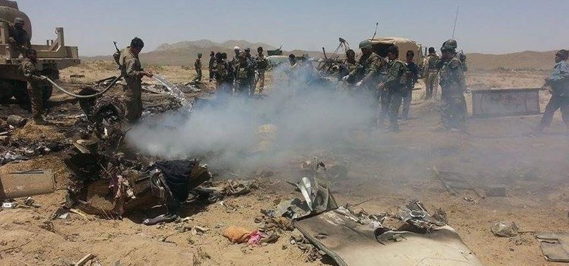CRASH OF AFGHAN MILITARY CHOPPER CLAIMS 25