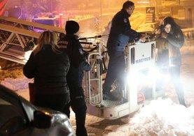 Ankara Çukurambar'da yangın: 30 kişi hastaneye kaldırıldı