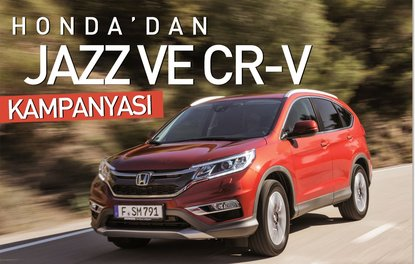 Honda'dan Jazz ve CR-V kampanyası