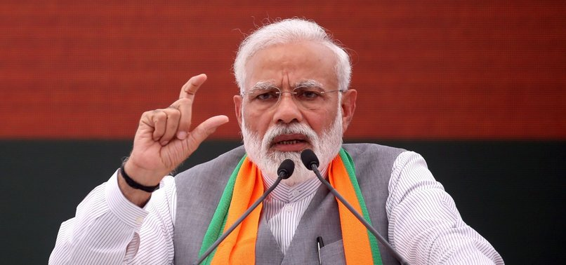 INDIAS BJP VOWS TO SCRAP SPECIAL RIGHTS FOR MUSLIM-MAJORITY KASHMIR STATE
