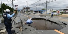 Three dead, over 200 injured as strong earthquake rocks Japan