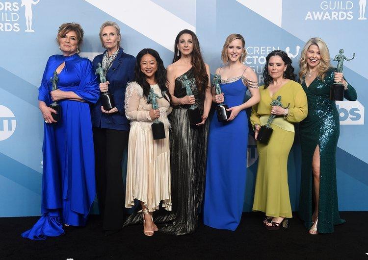2020 SAG Ödülleri Screen Actors Guild sahiplerini buldu