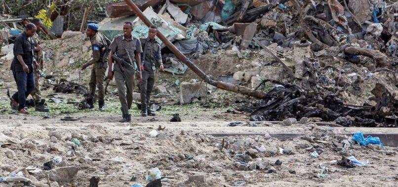 BOMB BLASTS KILL 5 CIVILIANS AND 1 POLICE OFFICER IN SOMALIA