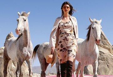 Kapadokya'yı podyuma çevirdiler
