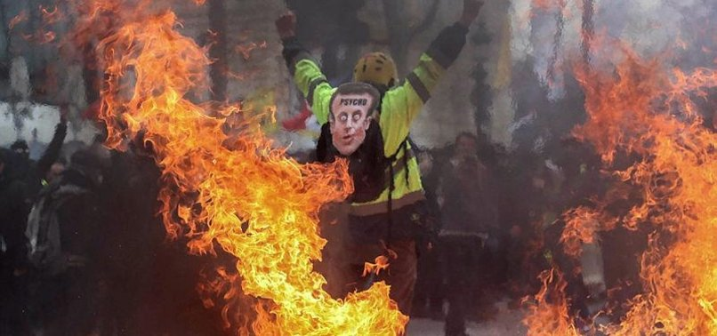 YELLOW VEST PROTESTS COMPLETE 5 MONTHS