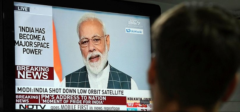 INDIA SHOOTS DOWN SATELLITE, BECOMING MAJOR SPACE POWER, PM MODI SAYS