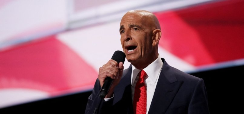 TRUMP ALLY BARRACK ARRESTED ON CHARGES OF ILLEGALLY LOBBYING ON BEHALF OF UNITED ARAB EMIRATES