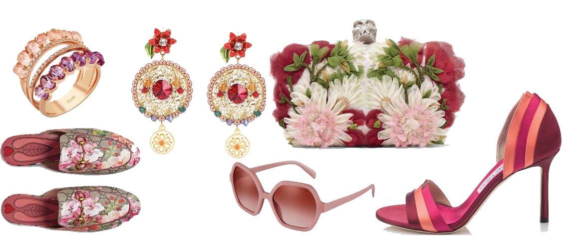 Üzerinde yaz çiçekleri açmış terlikler, pembe tonlarında dudaklar, geometrik forma sahip gözlükler... İşte ayın Top 7'si.
