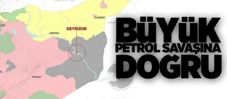 Suriye'de büyük petrol savaşına doğru