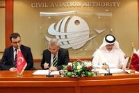 أعلنت الهيئة العامة للطيران المدني القطري توقيعها مذكرة تفاهم مع مديرية الطيران المدني التركية في مجال السلامة الجوية.  وتهدف المذكرة إلى