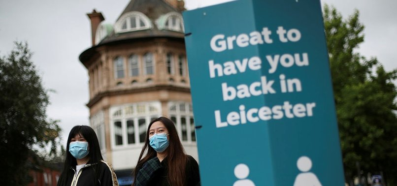 BRITAIN LOCKS DOWN CITY OF LEICESTER AFTER COVID-19 FLARE-UP