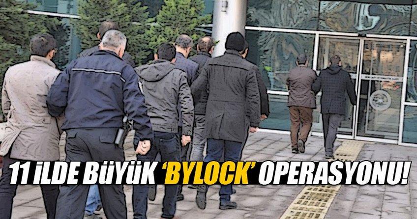 Bursa merkezli 11 ilde 'ByLock' operasyonu