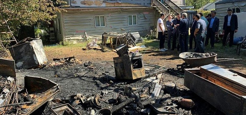 TURKISH FAMILY HOME LOCATED IN NEW YORK DAMAGED IN ARSON ATTACK