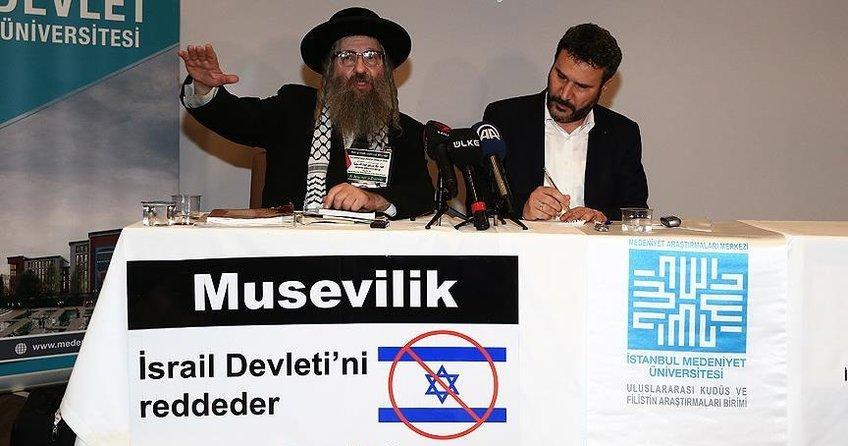 Yahudi Haham Weiss: Siyonist devlet bir an önce yok olsun