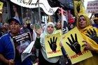 Rabia katliamı 4'üncü yılında protesto edildi