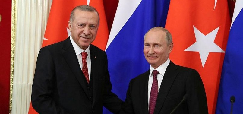 PUTIN TO HOLD MEETINGS WITH ERDOĞAN, ROUHANI IN RUSSIA