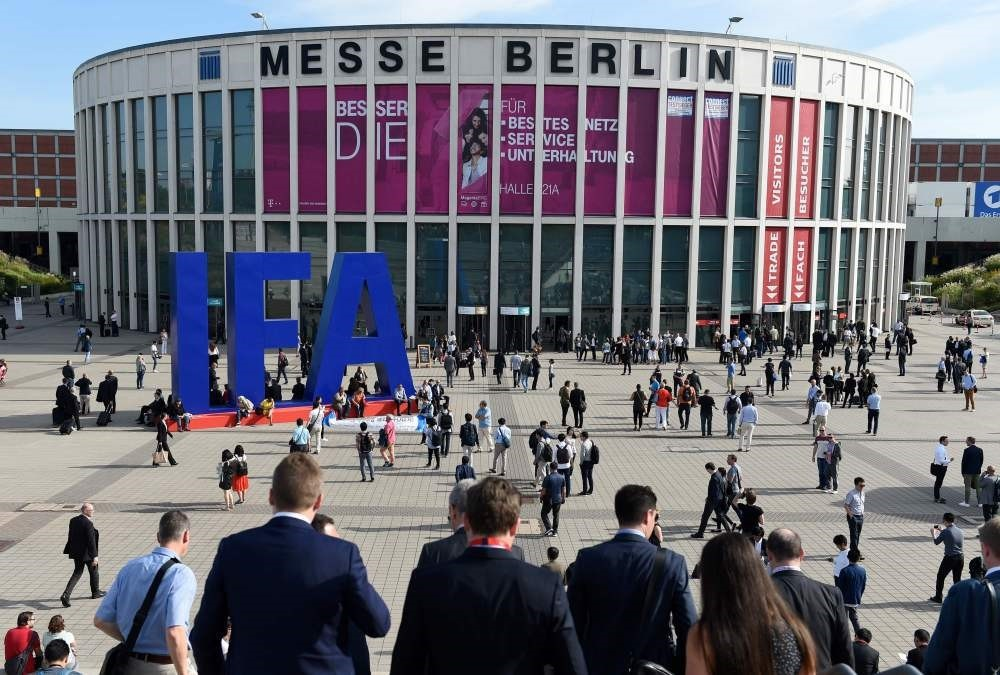 The IFA trade show venue in Berlin (AFP Photo)