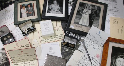 pLetters handwritten by the late Princess Diana, including one describing how her son Prince Harry was constantly in trouble, sold for £15,100 ($18,600, 17,500 euros) at a London auction on...