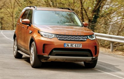 TEST · Land Rover Discovery 2.0 Sd4 HSE