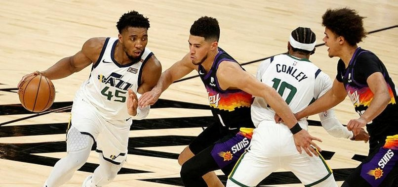 BOOKER, PAUL LEAD SUNS PAST JAZZ IN OT IN TOP NBA SHOWDOWN