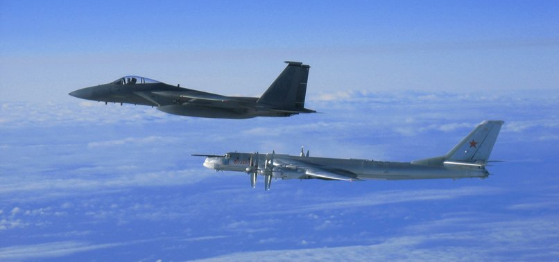 US INTERCEPTS RUSSIAN MILITARY AIRCRAFT BY BUFFER ZONE OFF ALASKA