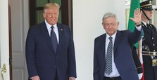 Mexican president meets Trump for first time with business on the menu
