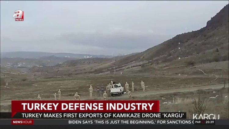 Turkey makes 1st export of locally-developed kamikaze drone 'Kargu'