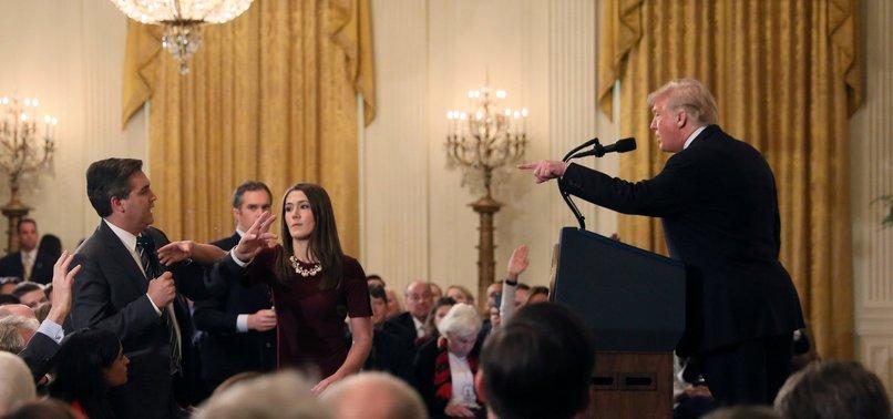 WHITE HOUSE SUSPENDS CNN CORRESPONDENTS PRESS PASS