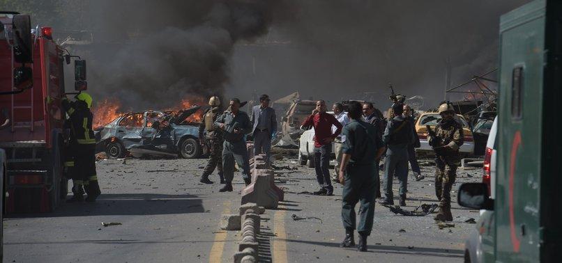 AFGHAN OFFICIAL: LARGE EXPLOSION ROCKS CAPITAL KABUL