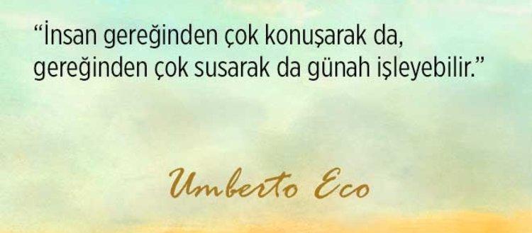 Yazı işçisi Umberto Ecodan 44 alıntı