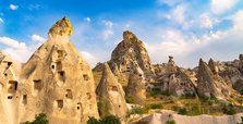 Cappadocia offers visitors an opportunity to stay at cave hotels