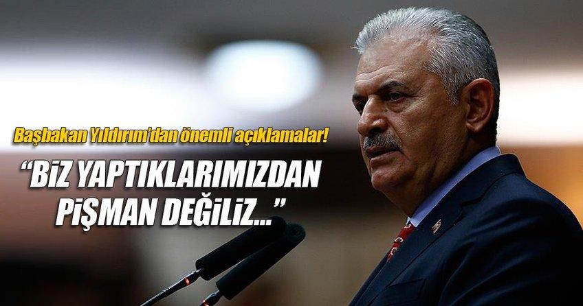 Başbakan Binali Yıldırım Göç ve Mülteciler Konferansı'nda önemli açıklamalarda bulundu.