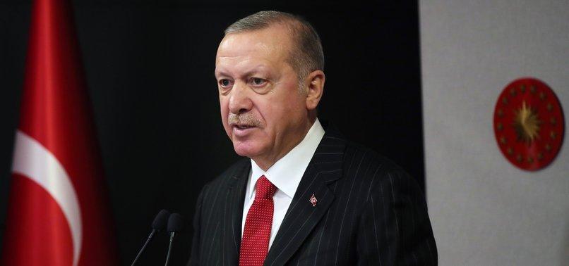TURKEYS ERDOĞAN EXCHANGES EID WISHES WITH WORLD LEADERS