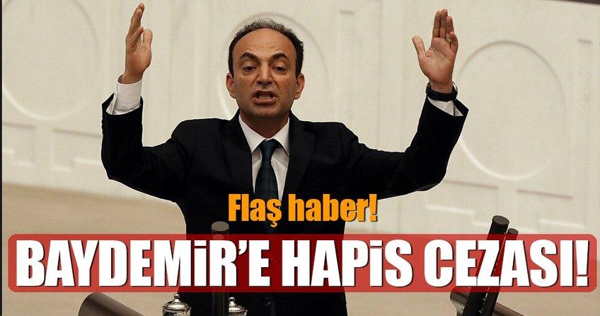 HDP Sözcüsü ve Milletvekili Baydemir'e 1 yıl 5 ay hapis cezası