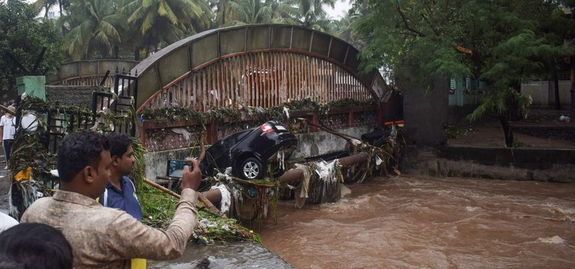 13 DEAD AFTER HEAVY RAIN IN WESTERN INDIAN CITY OF PUNE