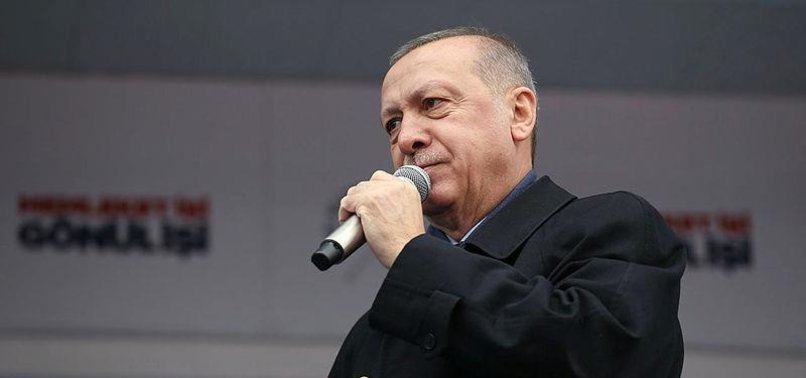 OPPOSITION ALLIANCE SUPPORTED BY TERRORIST GROUPS, PRESIDENT ERDOĞAN SAYS