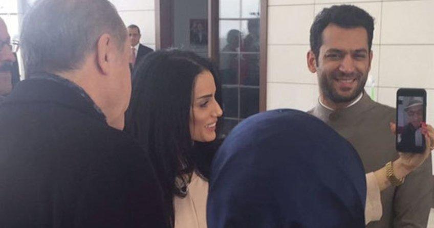 Cumhurbaşkanı Erdoğan ve eşi Emine Erdoğan, Murat Yıldırım'a kız istedi