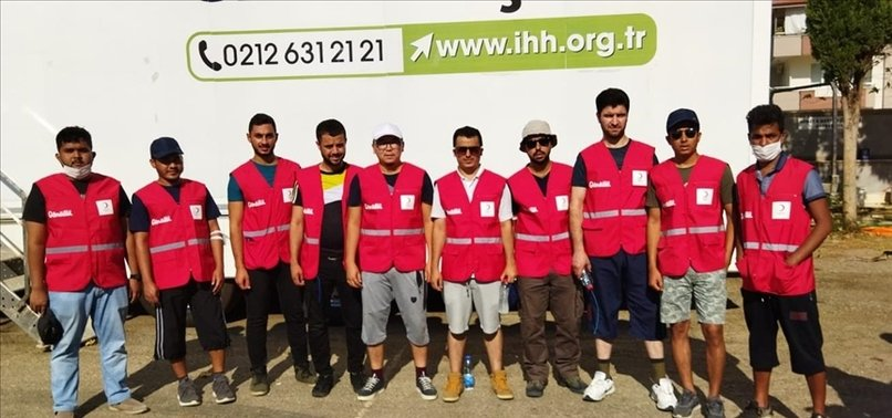 ROHINGYA STUDENTS IN TURKEY HELP VICTIMS IN FIRE-HIT AREA